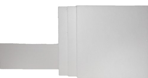 Nevada Weighingtm Brand Cem Style Microwave Glass Fiber Sample Pad- 4X4 Inch Square Pads - 1 Case Of 10,000 Pads (25 Boxes Of 400 Pads)
