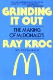 Grinding It Out: The Making of McDonald's (0809253453) by Ray Kroc