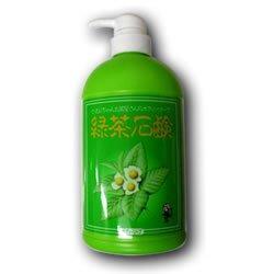 宇治森徳かおりちゃんお茶屋さんの石鹸・緑茶ボディーソープ 550ml