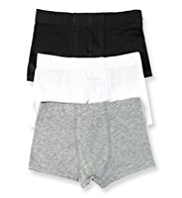 3 Pack Cotton Rich Assorted Trunks