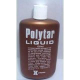 3 Pack Polytar Liquid 65 Ml Concentrated Antispetic Tar Scalp Cleanser