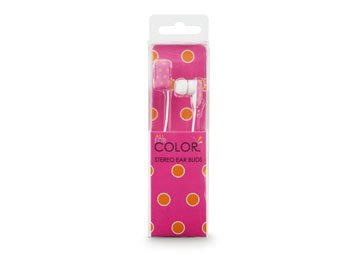 All For Color Sorbet Spots Ear Buds