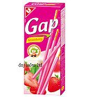 5 X United GAP Strawberry Flavour Biscuit Snack From Thailand