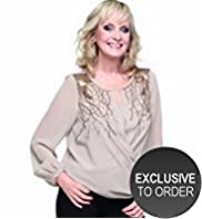 Twiggy for M&S Woman Embellished Wrap Top with Camisole