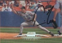 Travis Lee Arizona Diamondbacks 1999 Stadium Club Autographed Hand Signed Trading... by Hall+of+Fame+Memorabilia