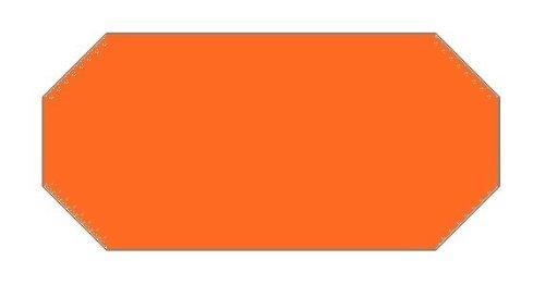 Haftetiketten handauszeichner pour 26 x 12 mm amovible orange (54.000...