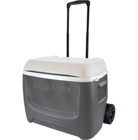Island Breeze 60 Quart Rolling Cooler(grey) (Igloo Loop Handle Cooler Tote compare prices)