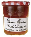 Bonne Maman Preserve, Peach, 13 OZ - Pack of 1