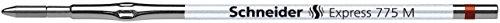 Schneider Express 775 d'encre pour stylo à bille à pointe moyenne Marron