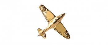 Spitfire 9ct Gold Tie Tack