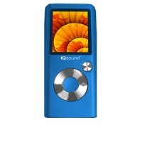 SuperSonic IQ-2600-BLUE IQ Sound MP3/MP4 Player