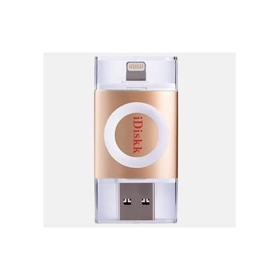 Maxxlite iDiskk 64GB USB OTG Drive for iPhone, iPad and iPod. Apple MFI Certified, USB 3.0 and Lightning Connector...