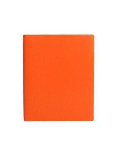 paperthinks-tangerine-orange-extra-large-ruled-recycled-leather-notebook-7-x-9-inches-by-paperthinks