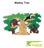 Cheap Fun ImagiPLAY Colorific Earth Monkey Tree Puzzle (#10420) (B002VNGMHY)