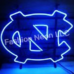 New North Carolina Tarheels Handcrafted Neon Light Sign 19x15 at Amazon.com