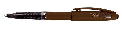 Pentel TRL92E Tradio EnerGel Roller Pen - Brown Barrel