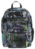 JanSport Big Student Backpack, Mammoth Blue News Stand