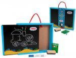 Schylling 2-Sided Chalk Board Briefcase / Chalkboard / Wipe Off Board