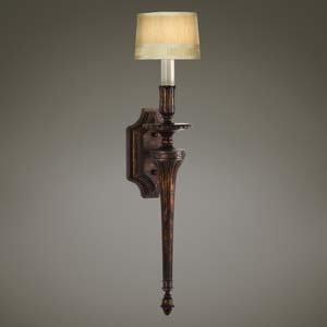 Amazon.com: Fine Art Lamps 434350, Fontana Bella Torchiere Wall Sconce Lighting, 1 Light, 60 ...