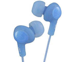 New - Gumy Plus In-Ear Headphones/Blue - Hafx5A