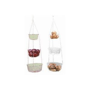 3 Tier Hanging Baskets Fruits And Vegetables