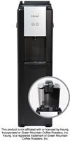 Primo Pro Series water cooler BOTTOM LOADER with non-slip pad allows your to secure a single serve coffee brewer on top of the dispenser