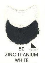 Magi Ölfarbe 1Tube 60 ml Zinc Titanium White 50