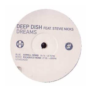 DEEP DISH VS STEVIE NICKS - Dreams - Promo 3 - 12 inch 45 rpm