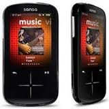 "SanDisk Sansa Fuze+ 4GB MP3 Player with 2.4"" LCD S"