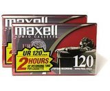 Check Out This MAXELL UR120 Blank Audio Cassette Tape (2 pack)