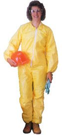 Tyvek QC Coveralls, Sewn and Bound Seams with Elastic Wrists and Ankles (12 per case) - Size 3X-Large hospital specialty company sontara creped blue wiper 12 x 12 inch 100 wipers per polybag 10 polybags per case