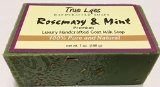 True Lyes Handcrafted Soaps Rosemary and Mint Soap 7 Oz Bar