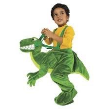 Toddler Plush Dino Rider Halloween Costume One Size Fits Most