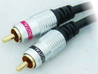 MX 1191A RCA MALE TO MX RCA MALE CORD (DIGITAL) GOLD PLATED - 3 MTR