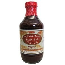 Noh Of Hawaii Spicy Bar-B-Q Sauce, 20 Ounce