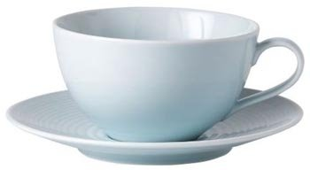 Royal Doulton Gordon Ramsey Maze Blue Breakfast Cup &Amp;Amp; Sa