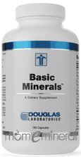 Basic Minerals 180 Capsules by Douglas Labs