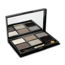 Bobbi Brown Soho Chic Eye Palette: 3X Eye Shadow, 2X Metallic Eye Shadow, 1X Shimmer Wash Eye Shadow, 1X Mini Brush --9G/0.31Oz