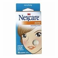 Nexcare Acne Absorbing Covers, Assorted, 36 ea