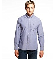 Blue Harbour Pure Cotton Slim Fit Shirt