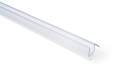 "Why Choose Frameless Shower Door Bottom Sweep with Drip Rail for 3/8"" Glass, 36"" Length"