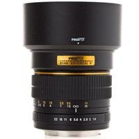 Pro-Optic 85Mm F/1.4 Telephoto Manual Focus Lens For Canon Eos Mount Slr Cameras