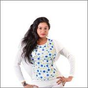 Glimmerra Women's Top (Fancy Top027Pdw_White_ Free Size)_40)