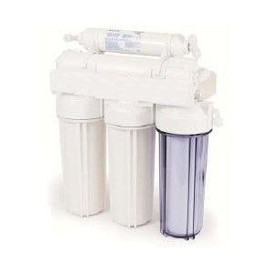 5 Stage Reverse Osmosis Undersink Water Filter System 50 GPD With Storage Tank