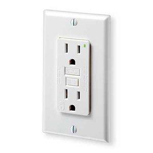 Leviton 7599-W 15 Amp Ground Fault Circuit Interrupter, White