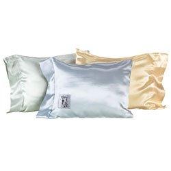 Satin Crib Nap Pillow by Little Giraffe in White