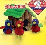 Kyjen Hide-A-Bird Puzzle Plush Intercative  Dog Toy, Large