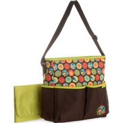 Baby Boom Colorful Monkey Tote Diaper Bag - 1