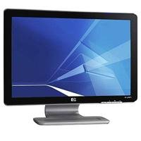 HP Pavilion w2007v 51,1 cm (20,1 Zoll) Widescreen TFT LCD-Monitor schwarz/silber (Kontrast 1000:1, 5ms Reaktionszeit)