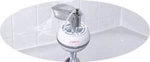 Crystal Quest White bath ball Water Filter (Most Advanced Bath Fiter On The Market)